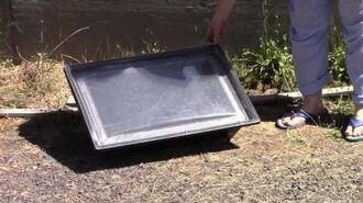 Part 1, Solar Cooking with Sharon Cousins - July 29, 2014
