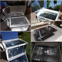 Power Box Solar Cooker