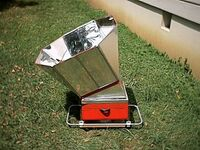 Solar Barbeque (box cooker)