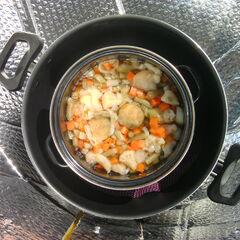 3) Potage de légumes 1,3 kg