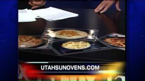 Solar Cooking on Good Day Utah Fox 13