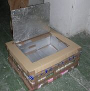 Tetra Brik Solar Box Cooker