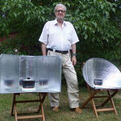 Fig. 11. André Kotowski cuit au soleil