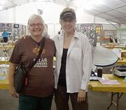 Sharon Clausson and Pat McArdle at San Diego County Fair 2014