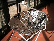 Cafetière solaire