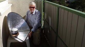 Cuiseur solaire conique UltraLightCooker Scout (autoconstruction)