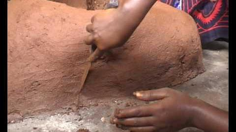 Solarafrica.network clay oven-jiko sanifu