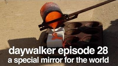 A special mirror for the world - melting copper with sunlight - tamera free lab - daywalker e28-0