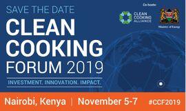 Clean Cooking Forum - Nairobi 2019
