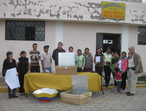 Cooker workshop, Funacion Inti Uma Ecuador, 2, 6-9-16,