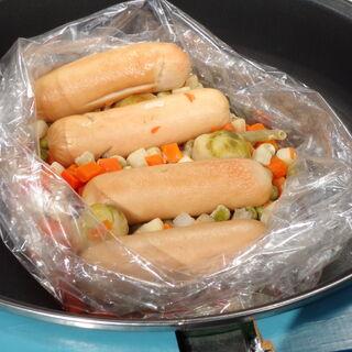 Saucisses aux légumes (0,5 kg)