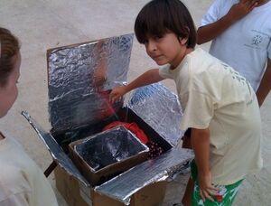 Green Life Academy solar oven workshop.jog