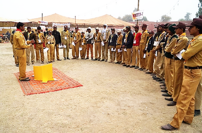 Lightoven III training with Boy Scouts in Pakistan