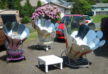 Solar Chef International, avialable models, 5-11-15