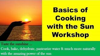 SUN OVEN Workshop