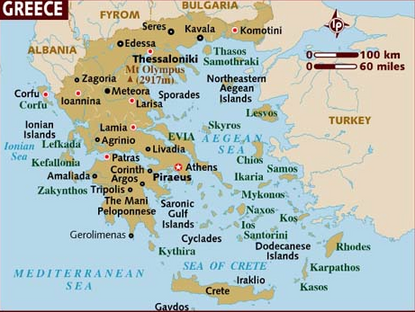 Greece map, 10-31-16