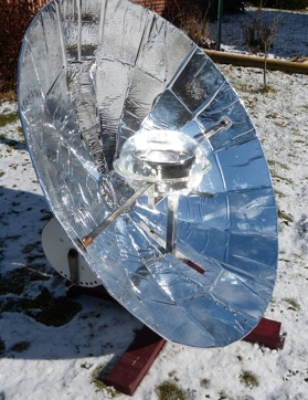 EB Hybrid Parabolic Cooker, 2-5-13