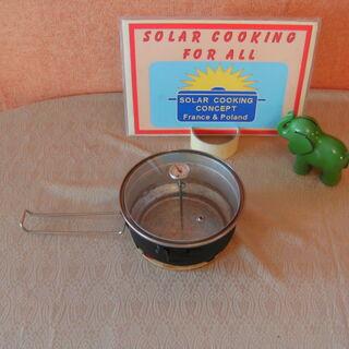 4) Pot avec le thermomètre