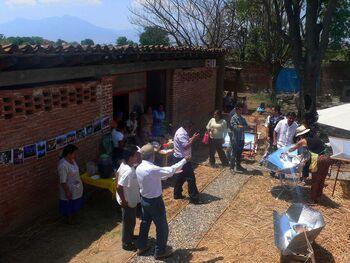 Cocina Solar Mexico 2013