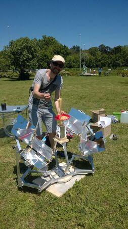 MUMA Solar Cooker- Solar Spaghetti