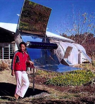 Parabolic Trough Solar Cooker