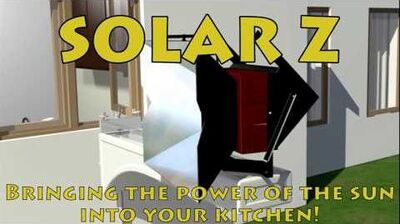 The Solar Z Solar Thermal Cooking Appliance