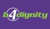 B4dignity logo, 9-27-19