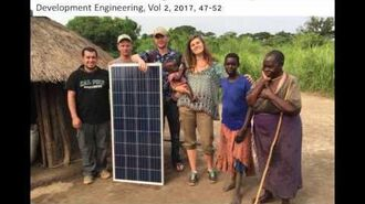 Solar Electric Cooking and Uganda, Pete Schwartz, Cal Poly Physics
