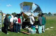 Villager Sun Oven to Karatara South Africa, 4-26-13
