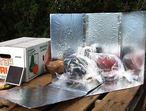 Seven Panel Cooker Preparedness box, 11-12-12
