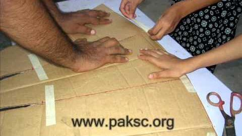 Solar Cooker By Pakistan Science Club Junior Scientist