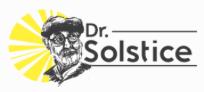 Dr. Solstice , logo, 5-26-20