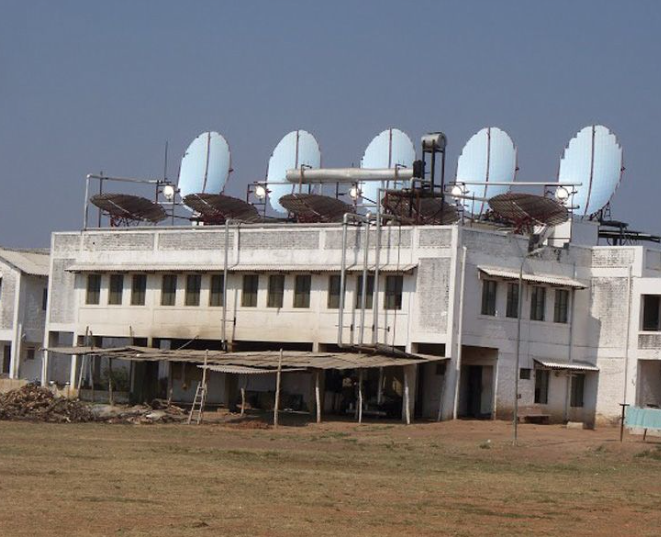 The Muni Seva Ashram In Goraj, Vadodara, India Has Switched From Steam To  Thermic Fluid To Be Able To Provide Nighttime Solar Cooking