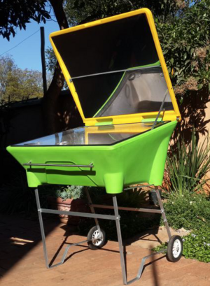 Patio Solar Oven, SunGenius, 10-1-19