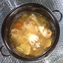 Fig. 22. Pilons de poulet dans le bouillon (1 kg)