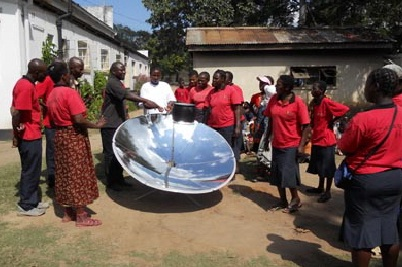 Madison Solar Engineering demonstration, 5-20-13