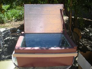 Solar Flare Box Cooker