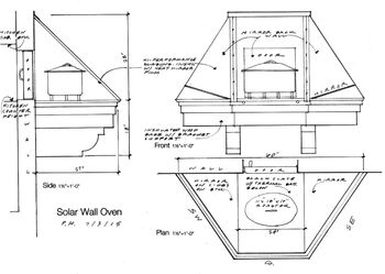Solar Wall Oven, P.H., 7-3-15