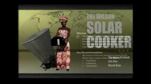 The Wilson Solar Cooker