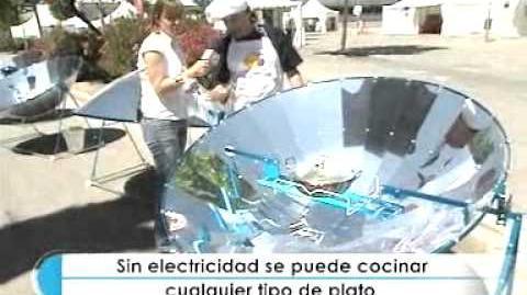 La cocina solar. I Semana de la Sostenibilidad
