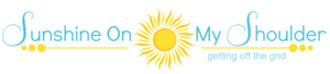 Sunshine On My Shoulder logo, 12-14-15