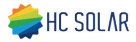HC Solar logo