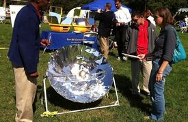 TIDES solar cooking exhibit 10-11, 4