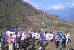 PRINCE solar cookers at Solar Trek, Nepal, 2013
