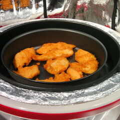 Filets panés de poulet