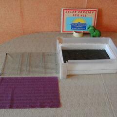 4) Tiroir et les grilles de séchage