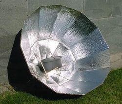 DATS solar cooker