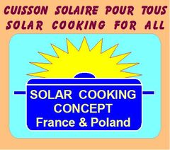 Logo Solar Cooking Concept - France & Poland