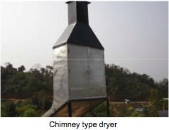 Chimney solar dryer