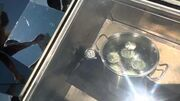 Solar oven water bath canning
